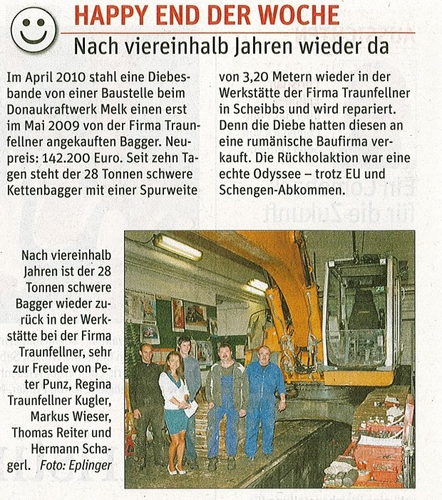 Artikel-NN-Baggerrckkehr-18.11.20141