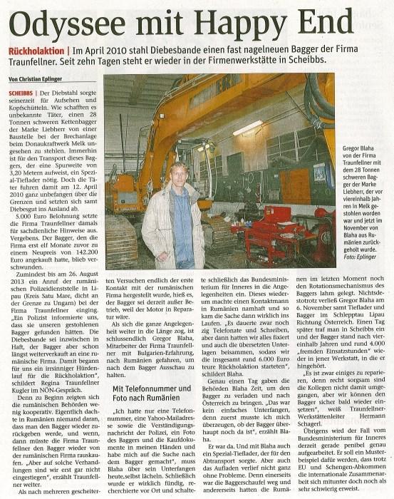 Artikel-NN-Baggerrckkehr-18.11.20142
